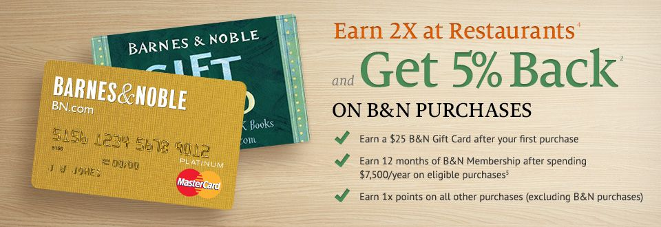 Barnes & Noble mastercard