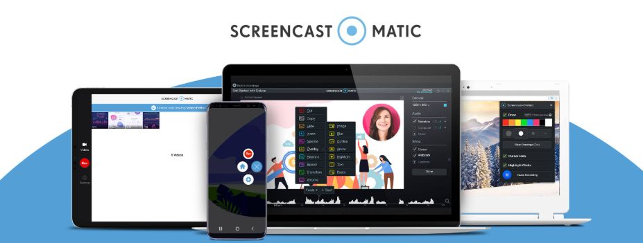About Screencast-O-Matic homepage