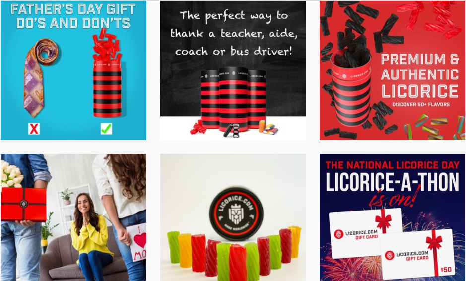 About LICORICE.COM Homepage