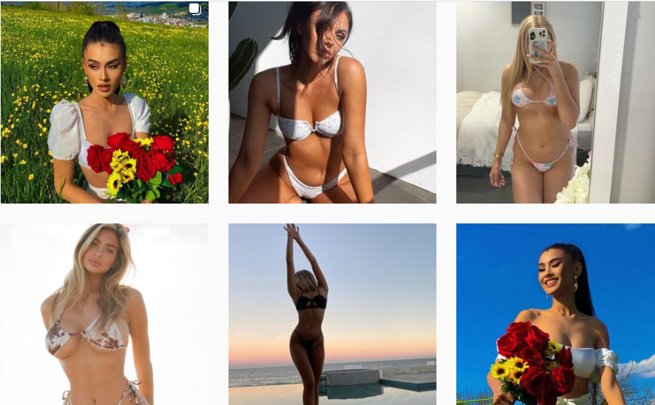 About FLORALKINI Homepage