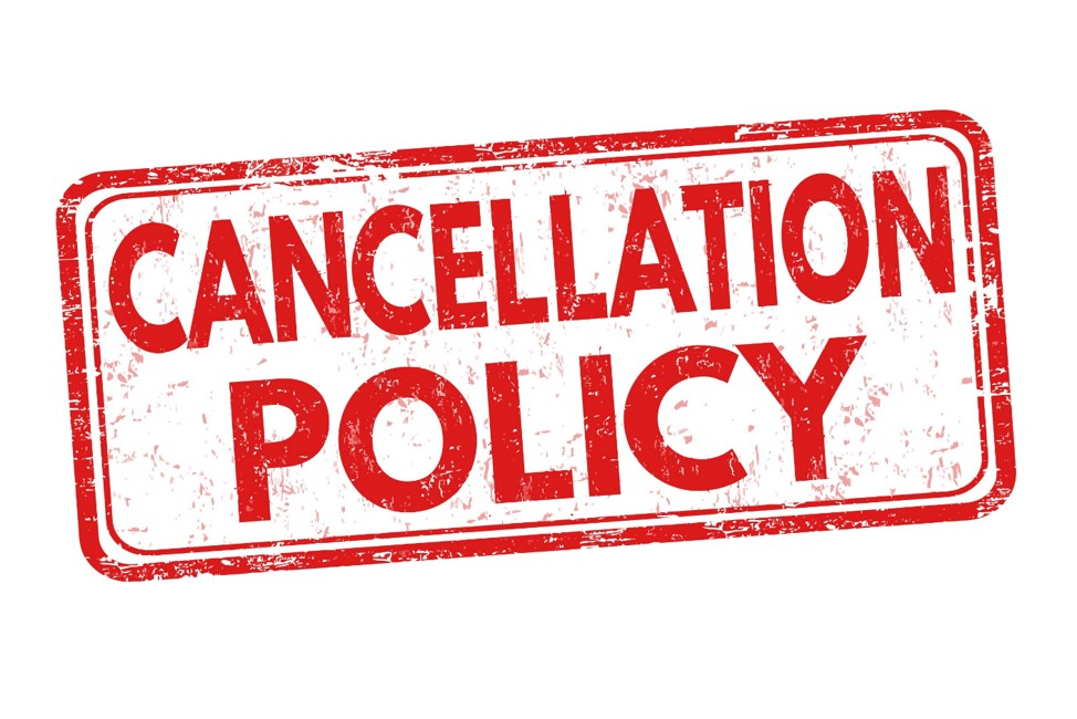 What is the alpharooms.com cancellation policy?