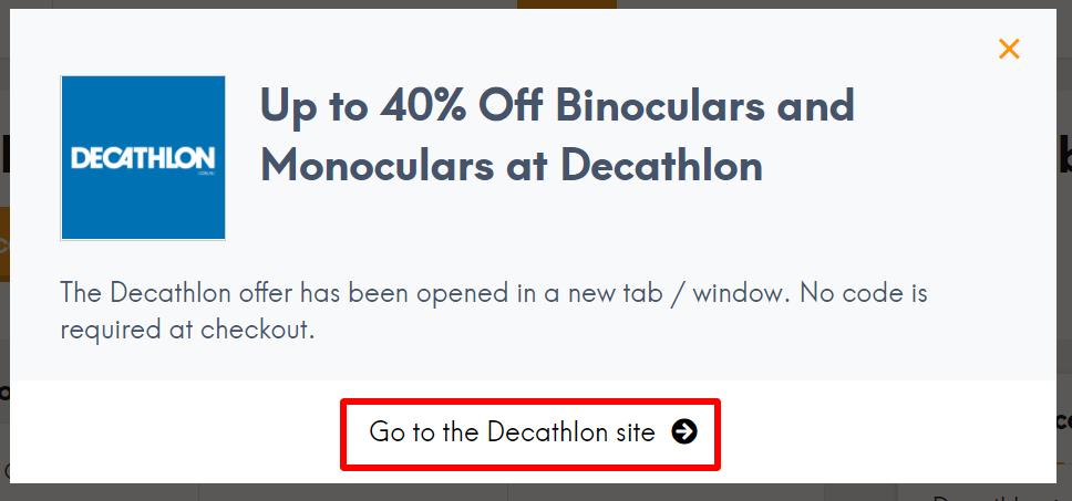 IN go to Decathlon
