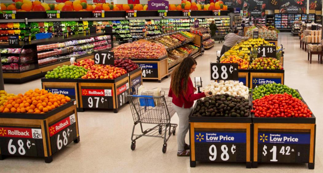 WalMart grocery Work
