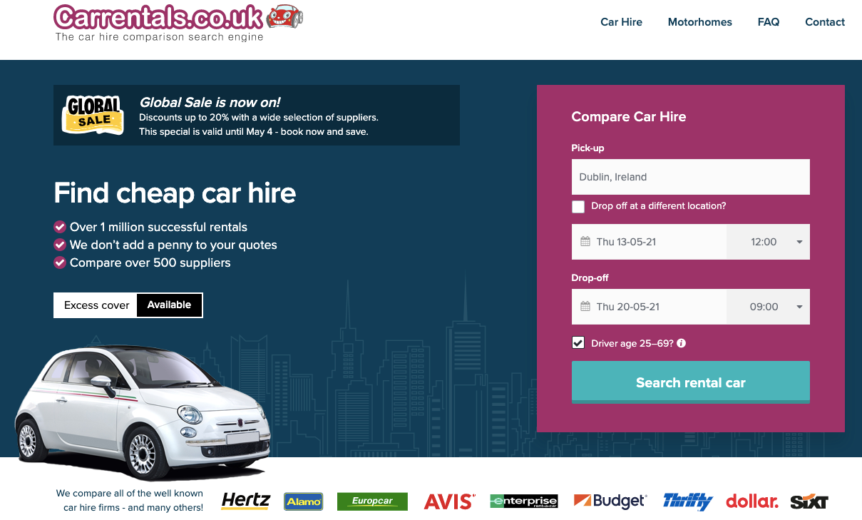 carrentals about