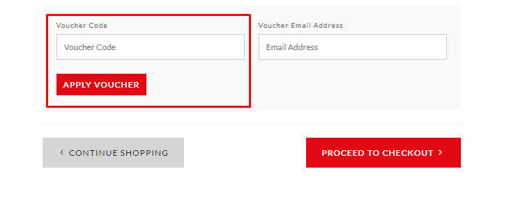 How do I use my Alessi voucher code?