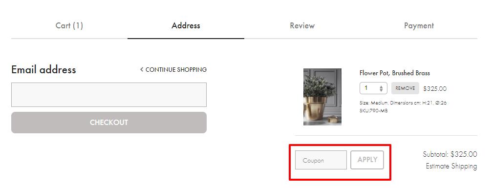How do I use my Atmosfar discount code?
