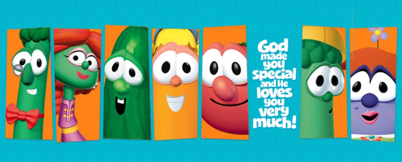About VeggieTales Homepage