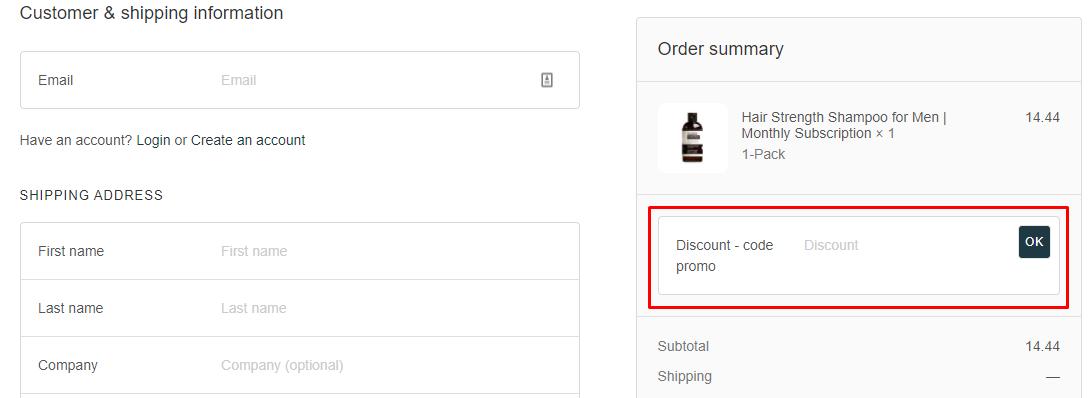 How do I use my Scandinavian Biolabs discount code?