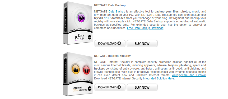 About NETGATE Technologies Homepage