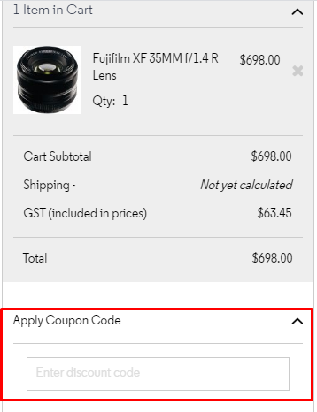 How do I use my CameraPro discount code?