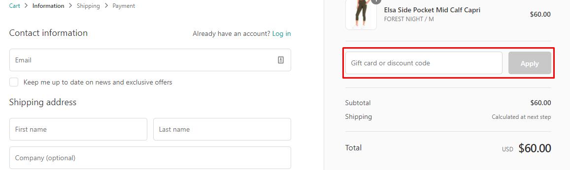 How do I use my Marika discount code?