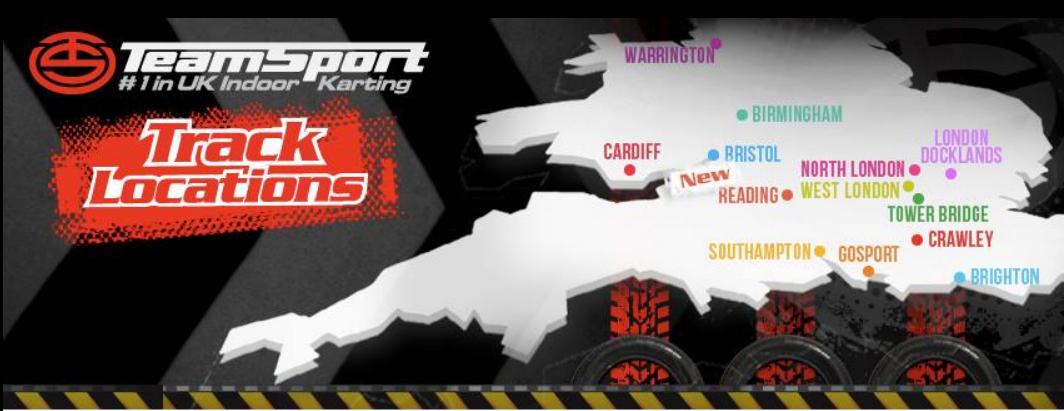 About TeamSport Indoor Karting Homepage