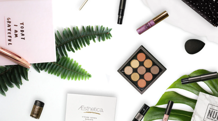 About BABE Cosmetics homepage