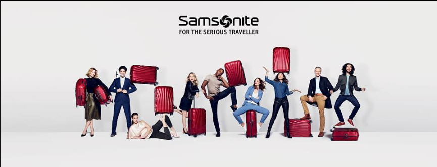 About Samsonite Homepage