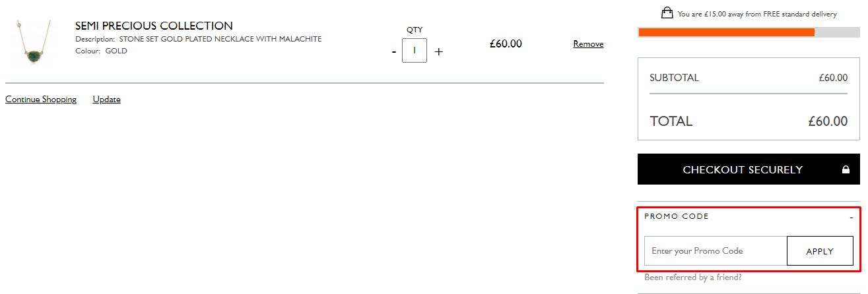 How do I use my Radley London promo code?