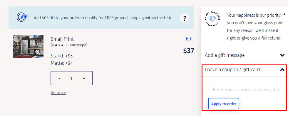 How do I use my Fracture coupon code?
