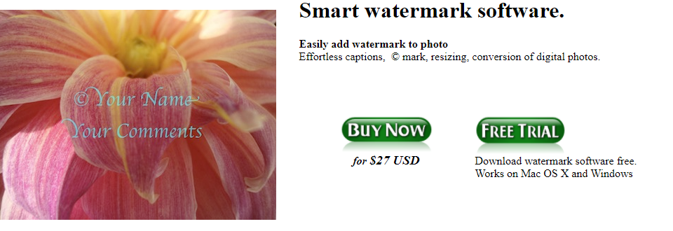 About Batch Watermark software Homepage