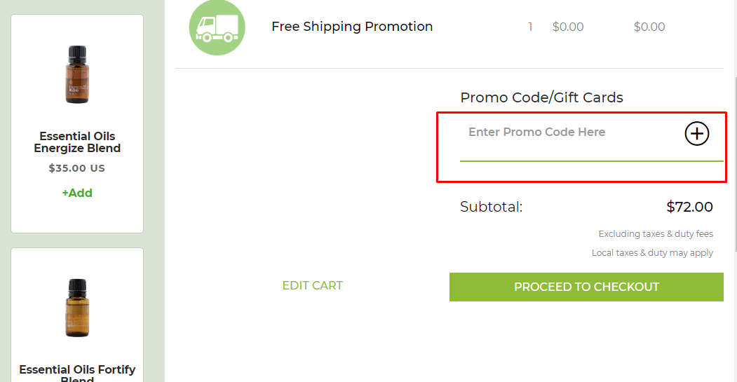 How do I use my Noni by NewAge coupon code?