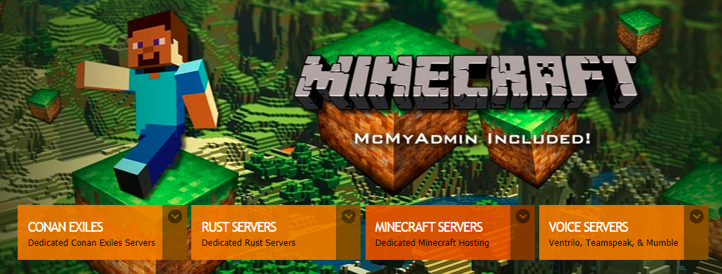 About Gameserver Homepage