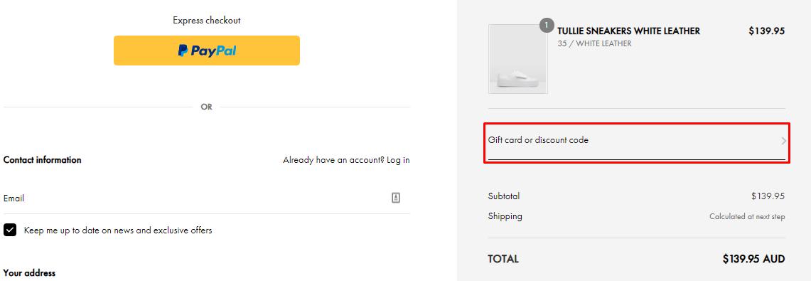 How do I use my Jo Mercer discount code?