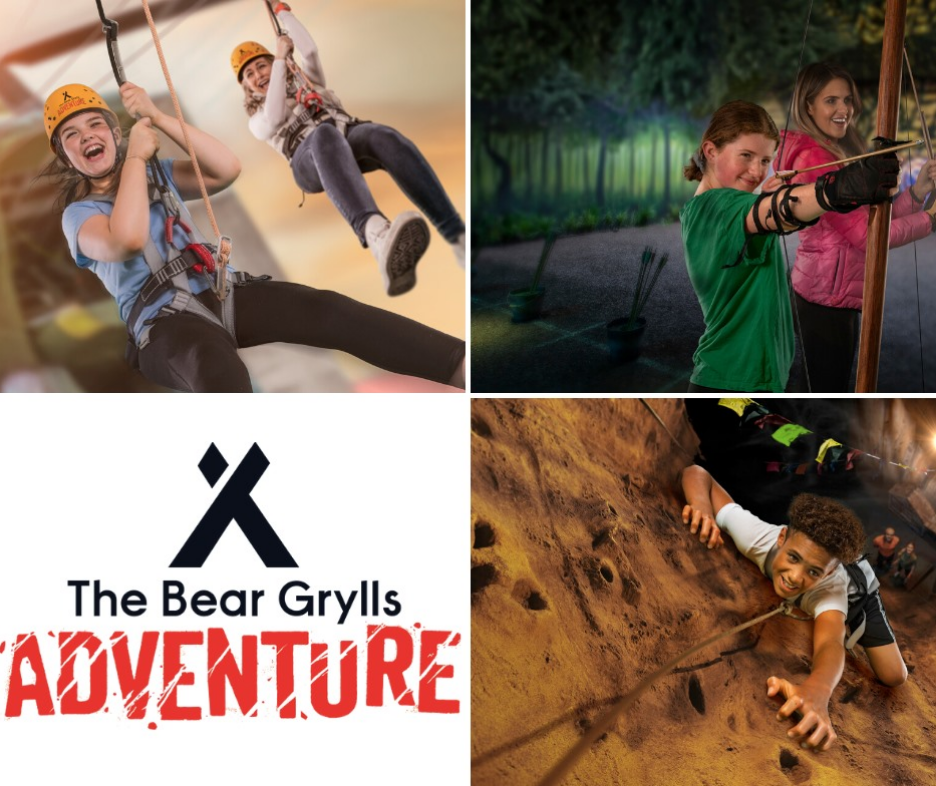 The Bear Grylls Adventure Homepage