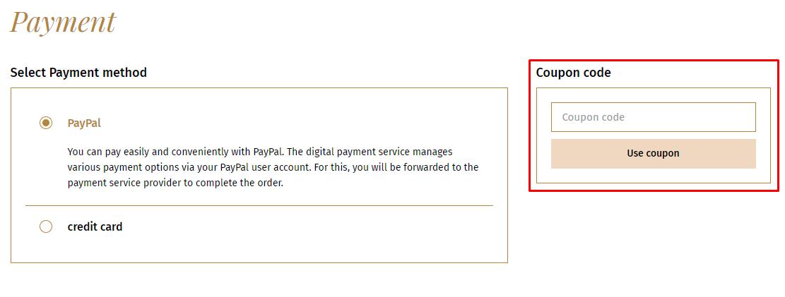 How do I use my Lebkuchen-Schmidt coupon code?