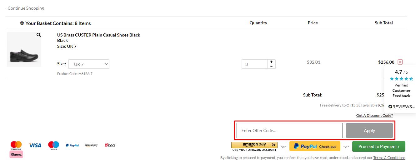How do I use my Shuperb discount code?