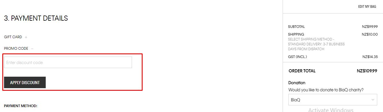 How do I use my Calvin Klein promo code?