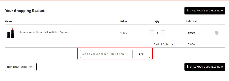 How do I use my LOOKFANTASTIC discount code?
