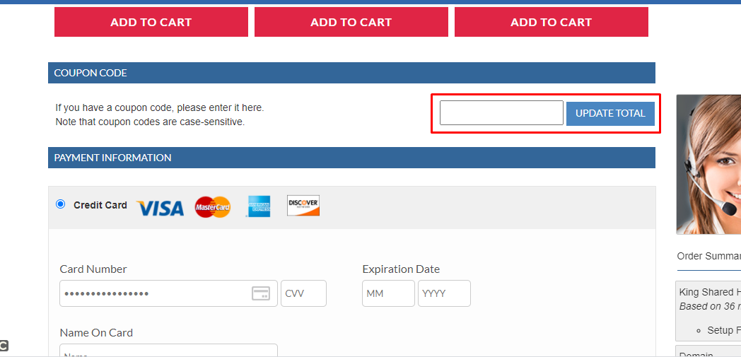 How do I use my NetHosting coupon code?