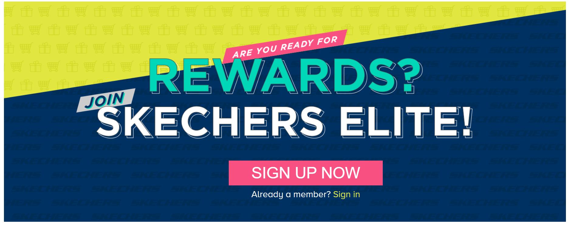 rewards Skechers