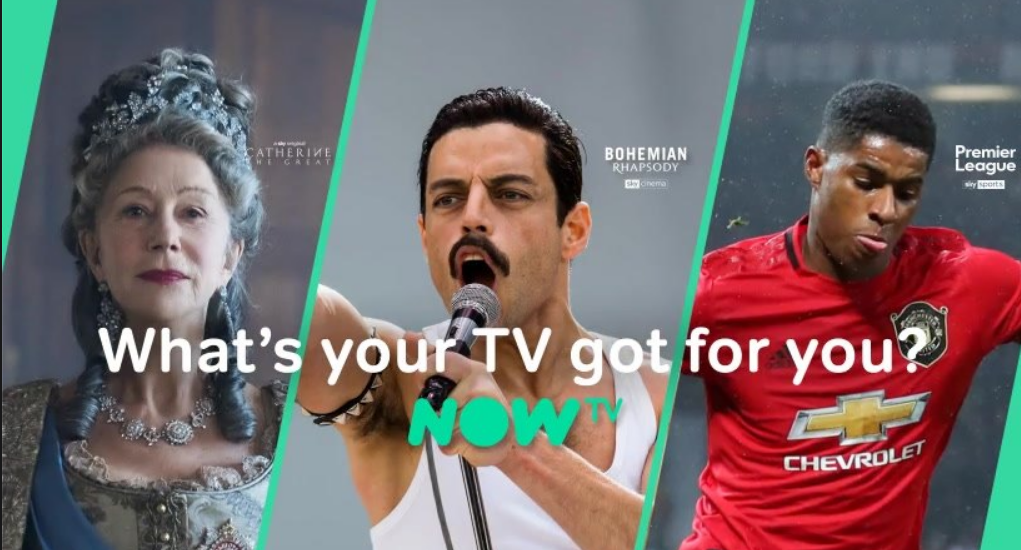 About NOW TV Homepage