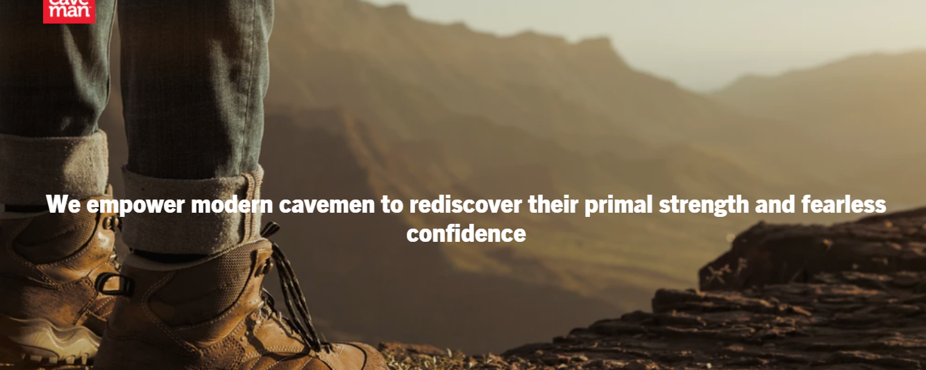 About Caveman Foods Homepage