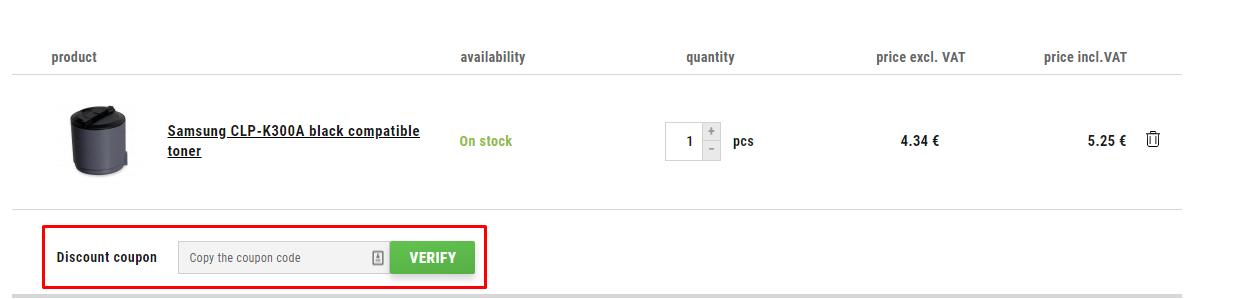How do I use my CDRmarket discount code?