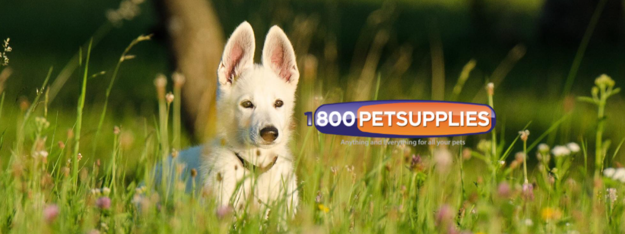 About 1800PetSupplies.com Homepage