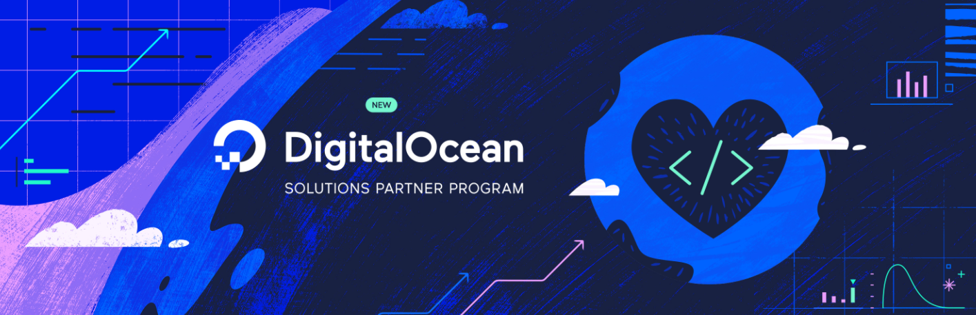 About DigitalOcean Homepage