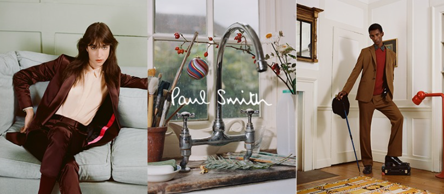 About Paul Smith Homepage