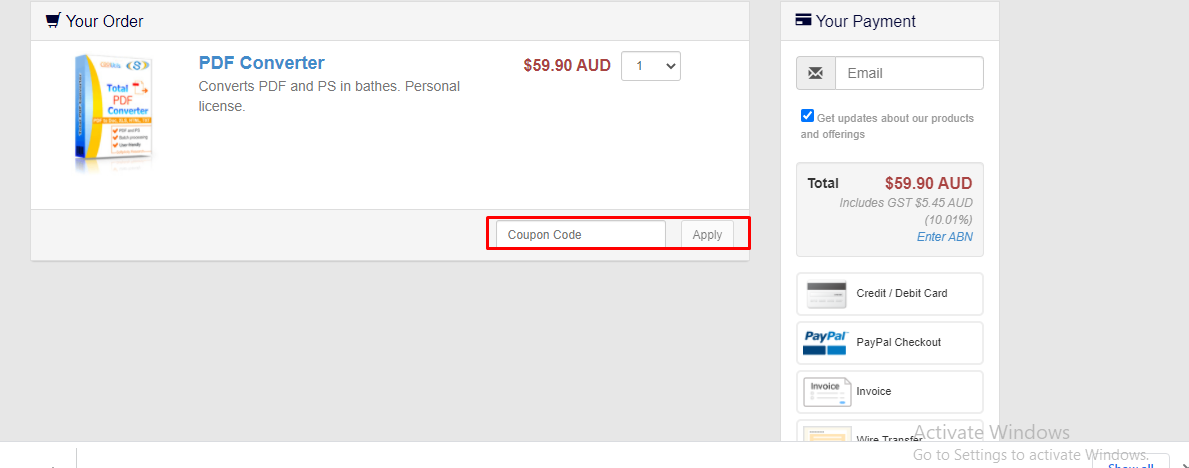 How do I use my CoolUtils coupon code?