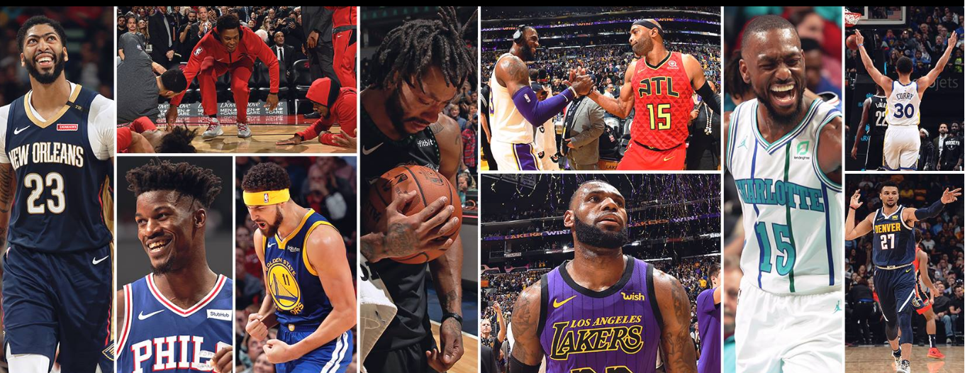 About NBA League Pass homepage