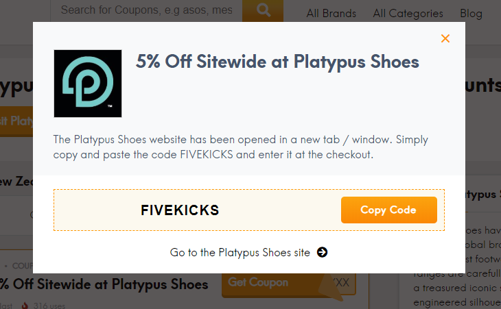 Go to Platypus Shoes site