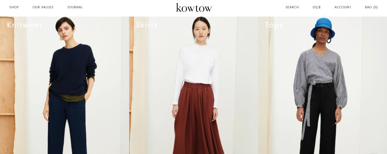 Kowtow Home Page