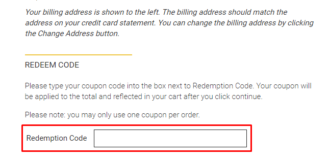 How do I use my On-Line Paper coupon code?