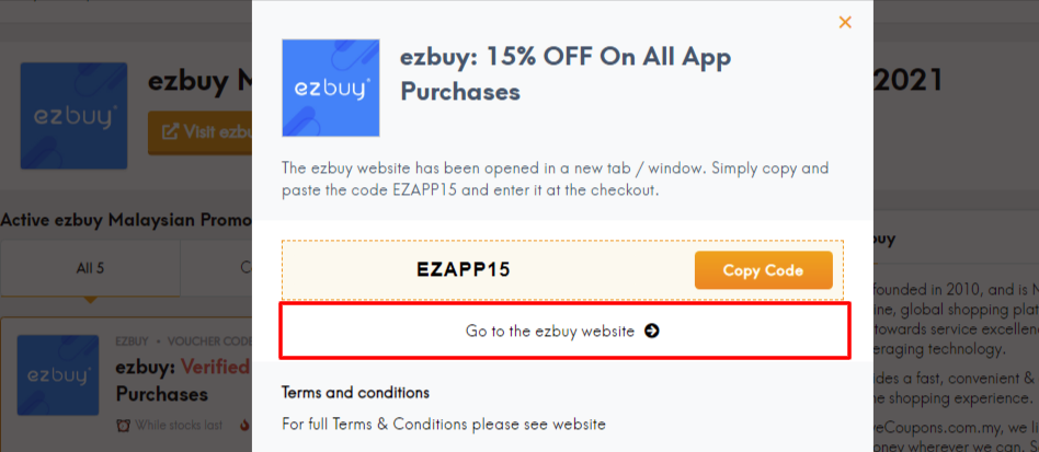 ezbuy coup offer