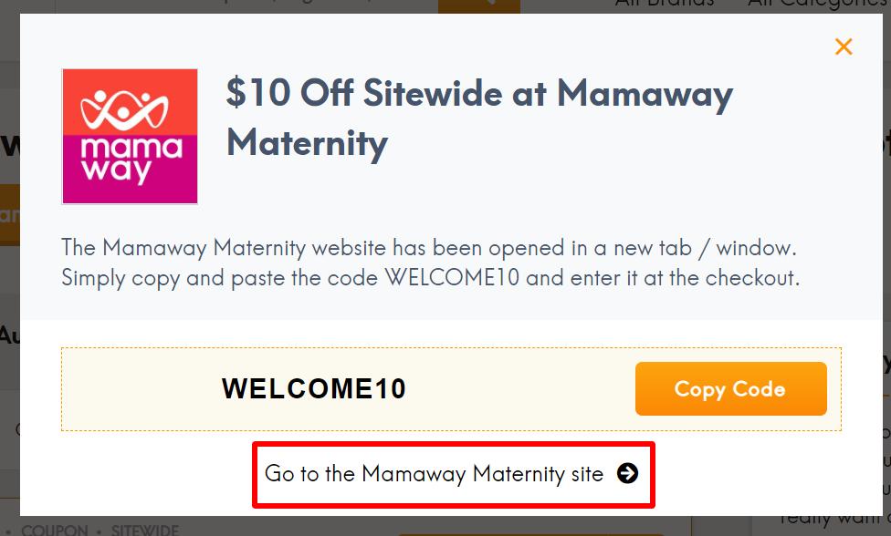 Mamaway Maternity about AU_