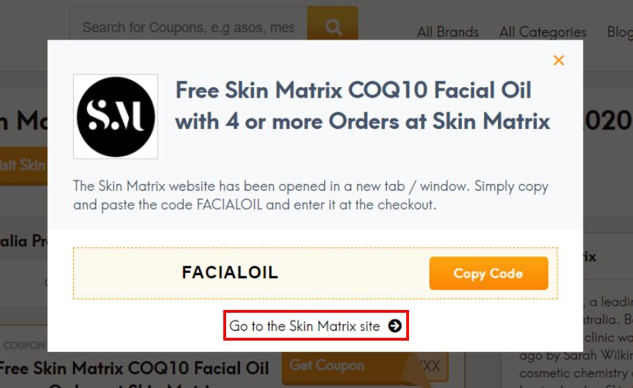 go to Skin Matrix site
