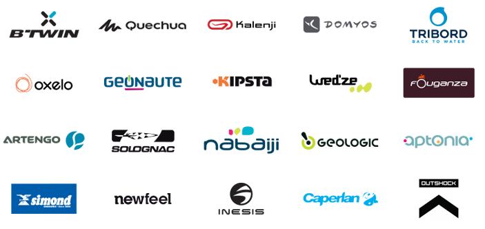 Decathlon brands