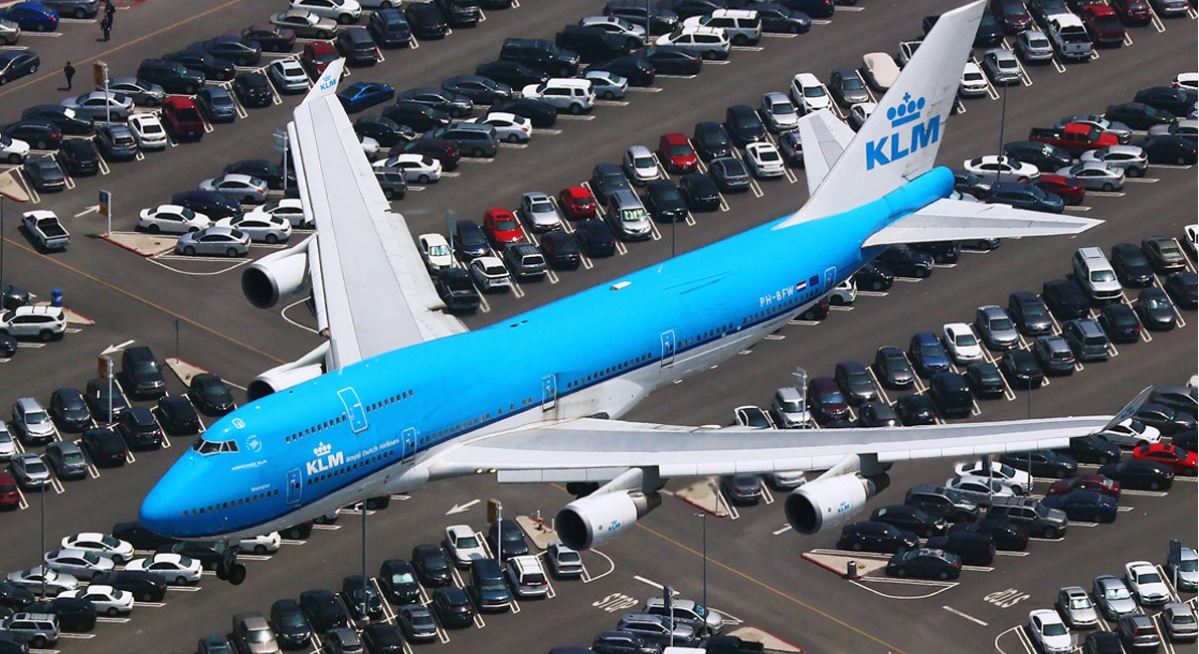 About KLM homepage