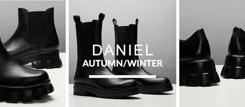 About Daniel Footwear Homepage