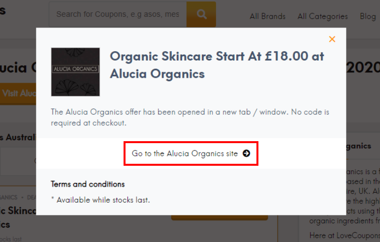 How to Get the Best of Alucia Organics's Deals and Discounts?