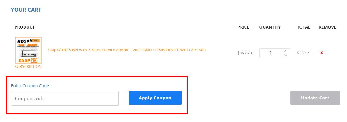 How do I use my Globe TV discount code?